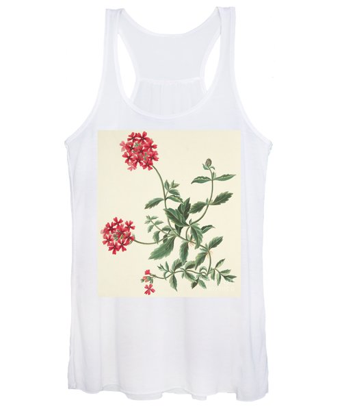 Scarlet Flowered Vervain Women's Tank Top