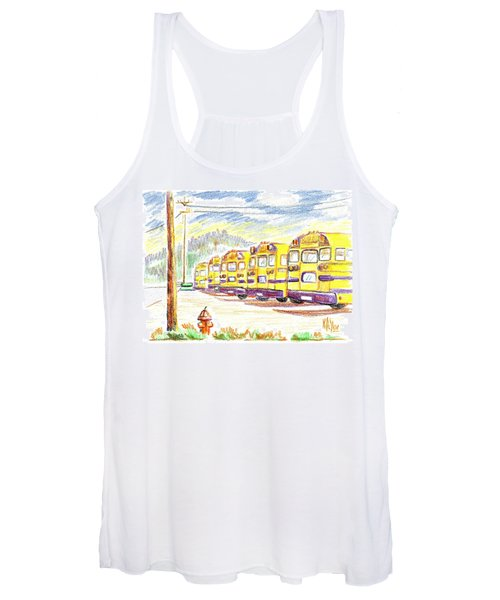School Bussiness Women's Tank Top