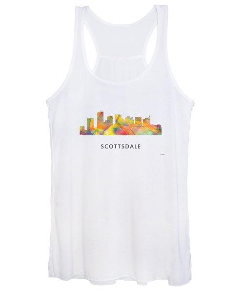 Scottsdale Arizona Skyline Women's Tank Top