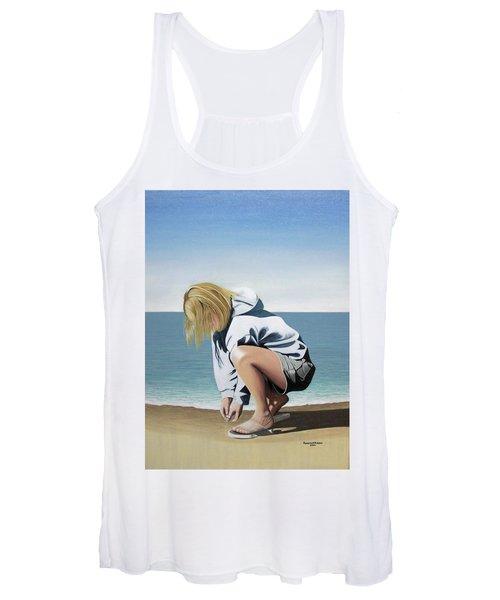 Sea Shells On The Beach Women's Tank Top