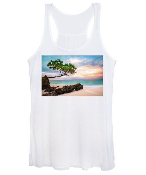 Seagrape Tree Women's Tank Top
