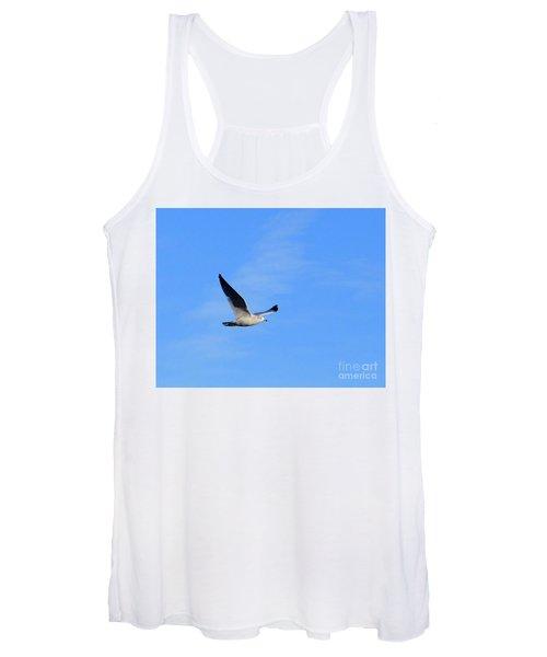 Seagull In Flight Women's Tank Top