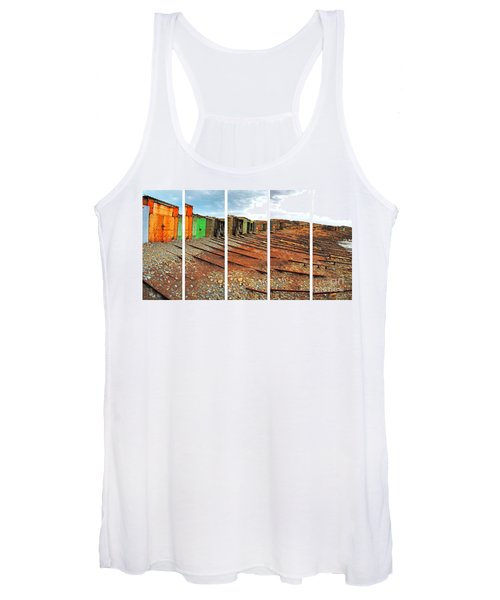 Second Valley Boat Sheds Women's Tank Top