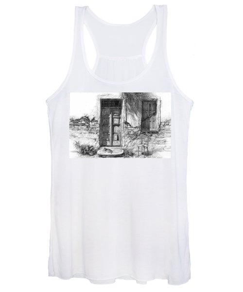 Secret Of The Closed Doors Women's Tank Top