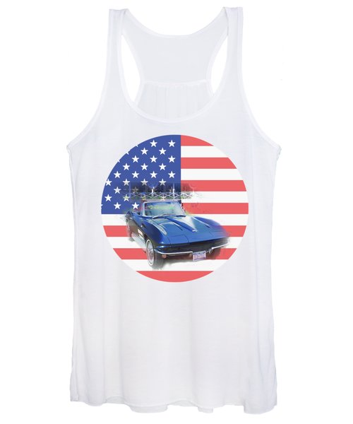 See The Usa Women's Tank Top