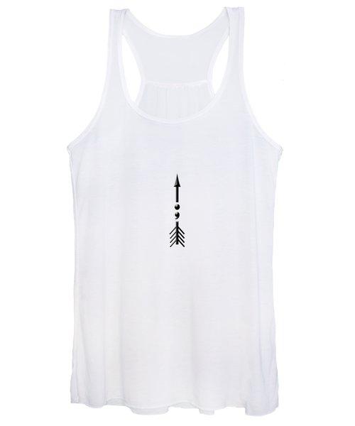 Semicolon Arrow Women's Tank Top