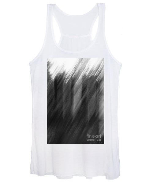 Shades Of Black And White Women's Tank Top