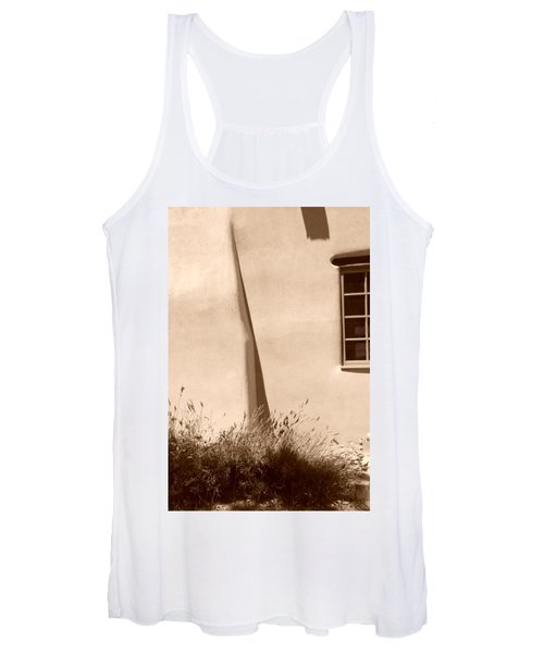 Shadows And Light In Santa Fe Women's Tank Top