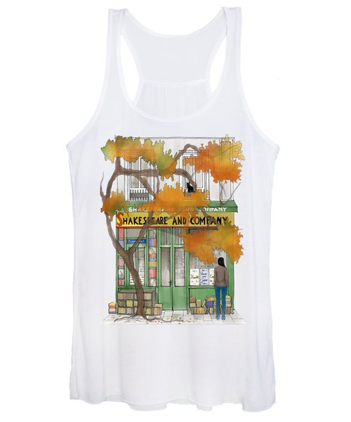 Shakespeare And Company - By Diana Van Women's Tank Top