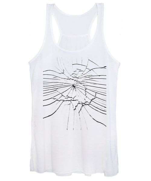 Shattered Glass - Cracks And Shards Women's Tank Top