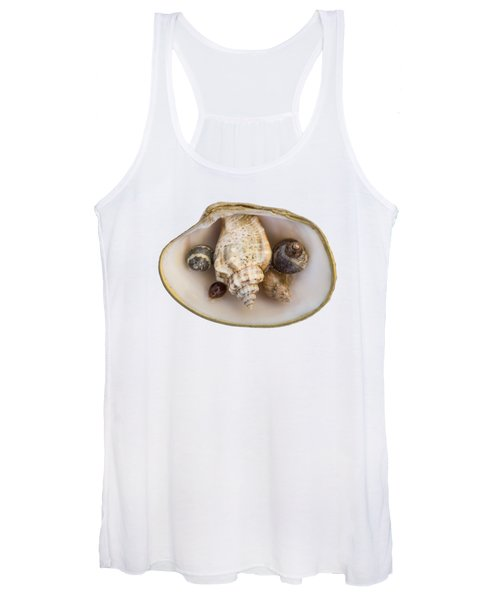 Shells Within A Sea Shell Women's Tank Top