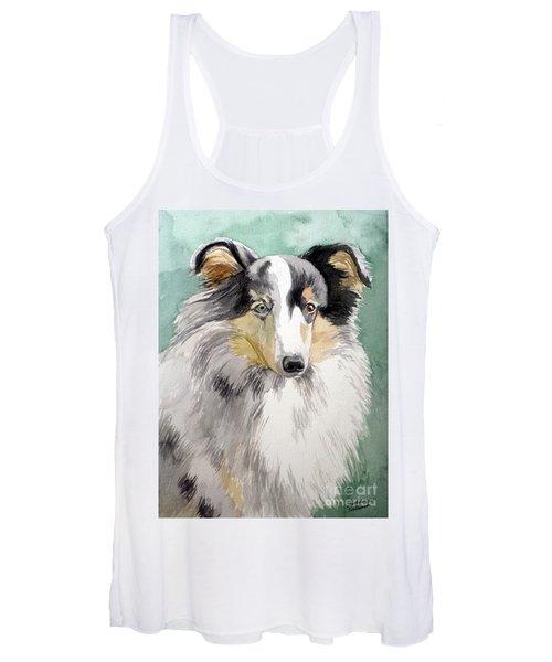 Shetland Sheep Dog Women's Tank Top