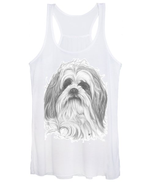 Shih-poo Women's Tank Top