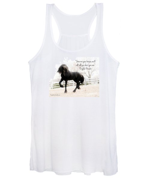 Show Me Your Horse Women's Tank Top