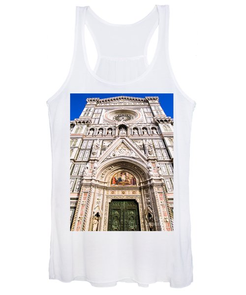 Siena Cathedral Women's Tank Top