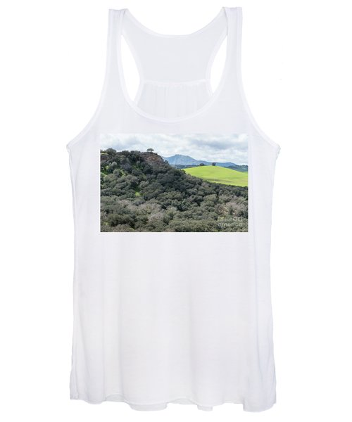 Women's Tank Top featuring the photograph Sierra Ronda, Andalucia Spain 2 by Perry Rodriguez