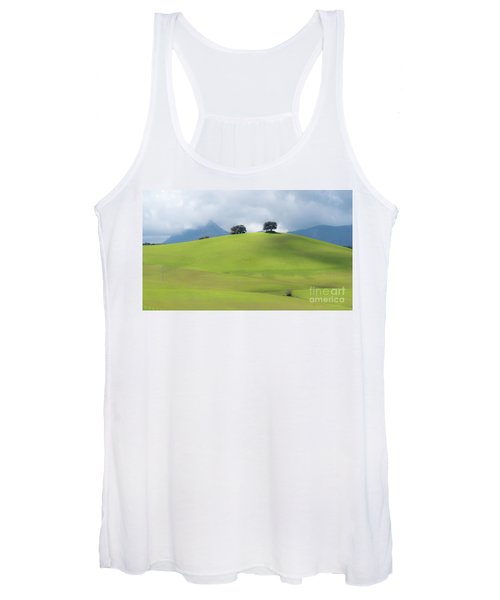 Women's Tank Top featuring the photograph Sierra Ronda, Andalucia Spain 3 by Perry Rodriguez