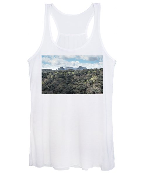 Women's Tank Top featuring the photograph Sierra Ronda, Andalucia Spain by Perry Rodriguez