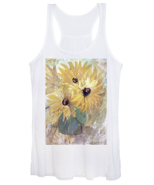 Simply Sunflowers  Women's Tank Top