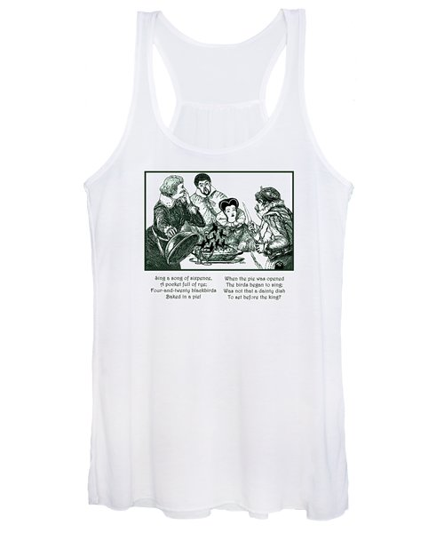 Sing A Song Of Sixpence Nursery Rhyme Women's Tank Top