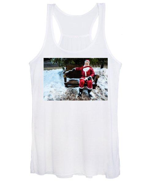 Sit With Santa Women's Tank Top