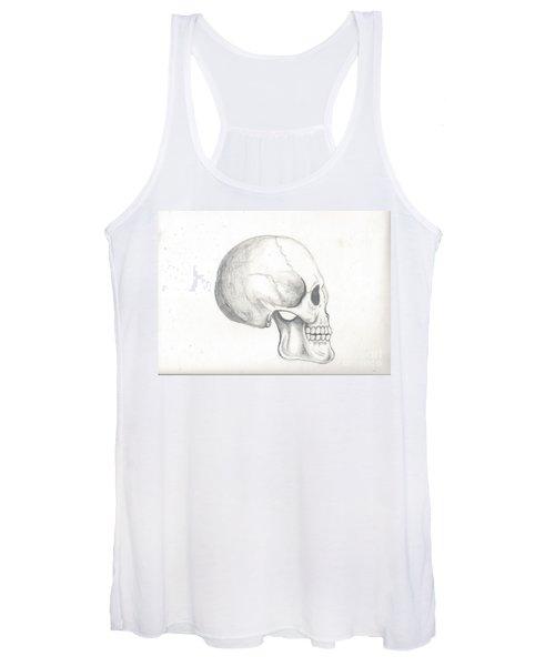 Skull Study Women's Tank Top
