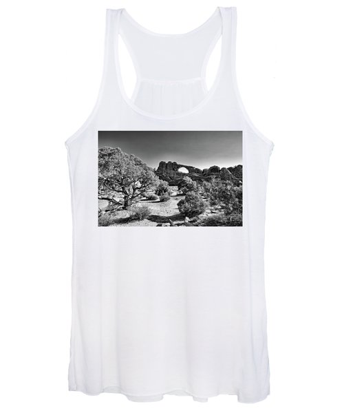 Skyline Arch In Arches National Park Women's Tank Top