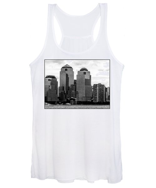 Skyline Nyc River View  Women's Tank Top