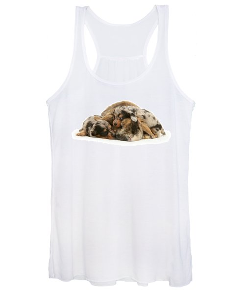 Sleep In Camouflage Women's Tank Top