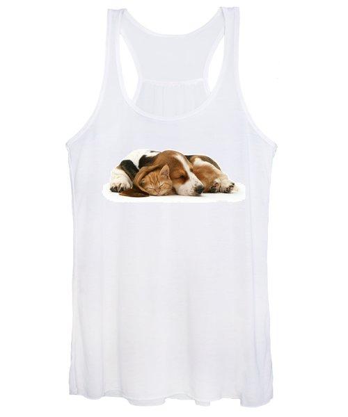 Sleepy Ginger Pals Women's Tank Top