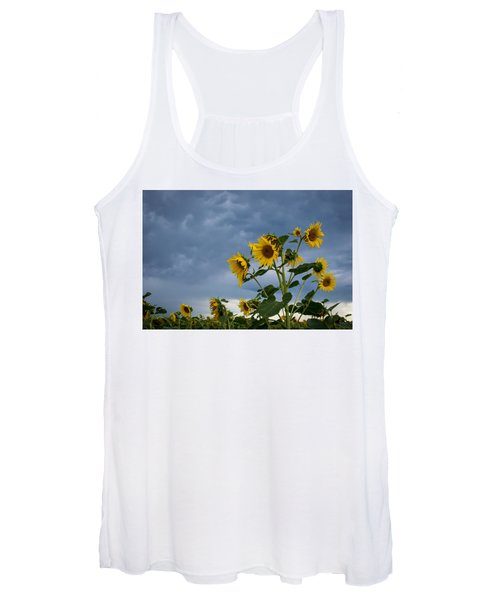 Small Sunflowers Women's Tank Top