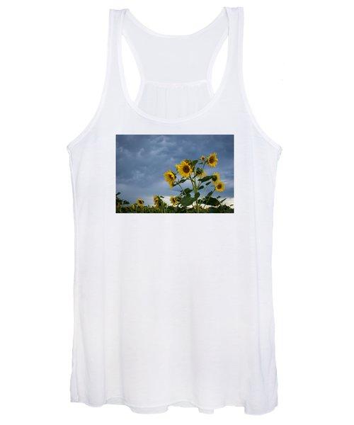 Small Sunflowers Women's Tank Top