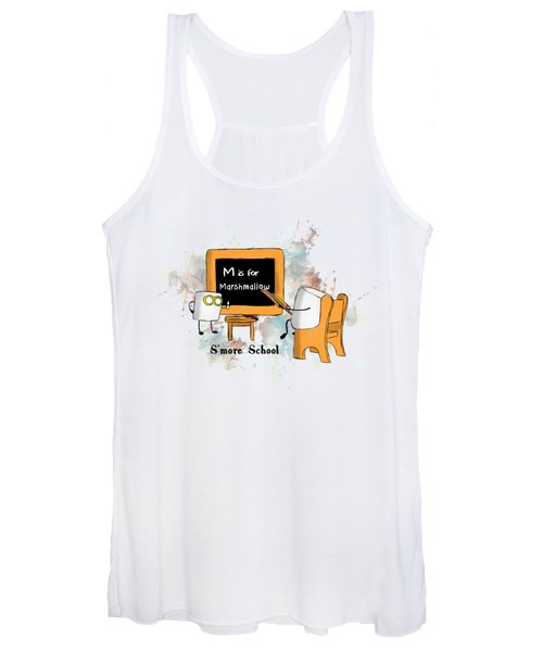 Smore School Illustrated Women's Tank Top