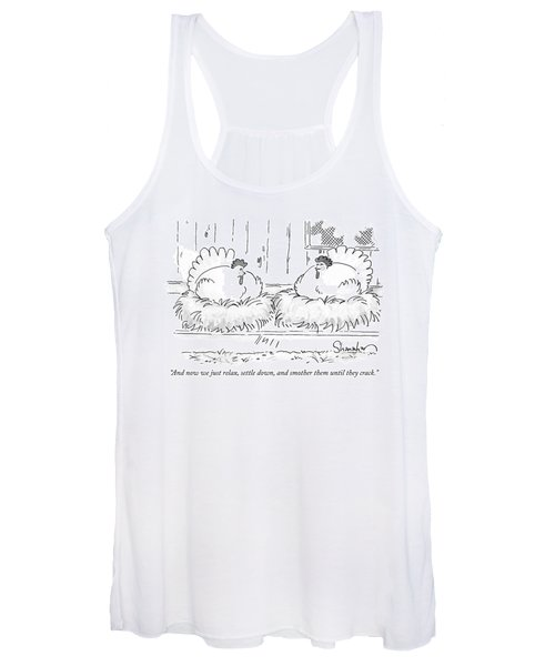 Smother Them Until They Crack Women's Tank Top