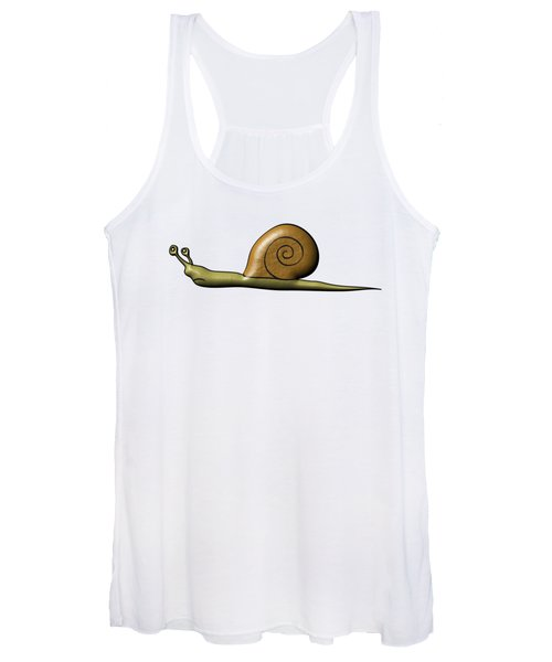 Snail Women's Tank Top