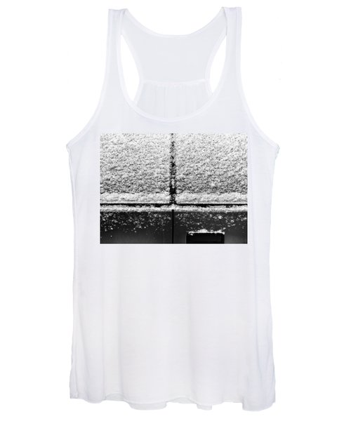 Snow Covered Rear Women's Tank Top