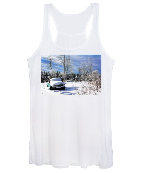 Snow Truck Women's Tank Top