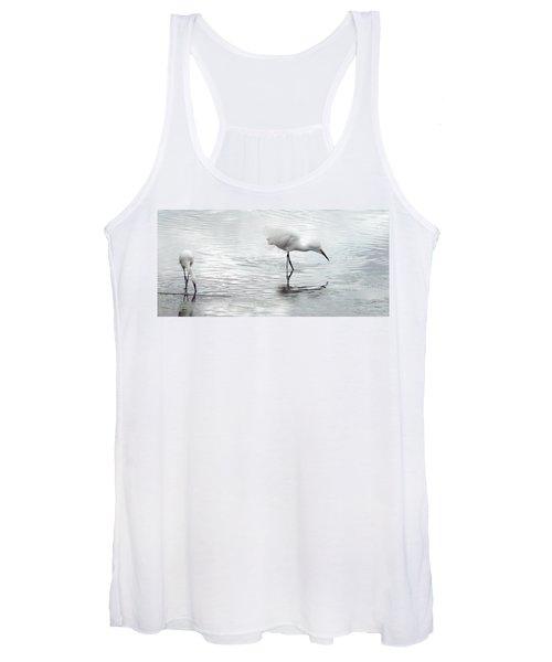 Snowy Egrets Women's Tank Top