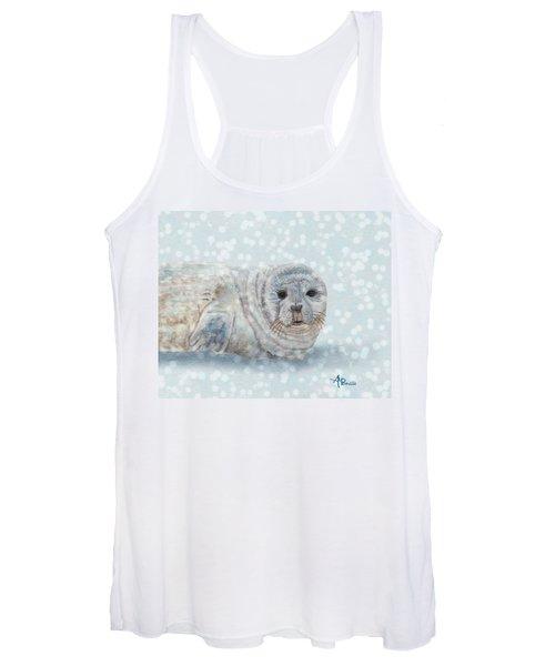 Snowy Seal Women's Tank Top