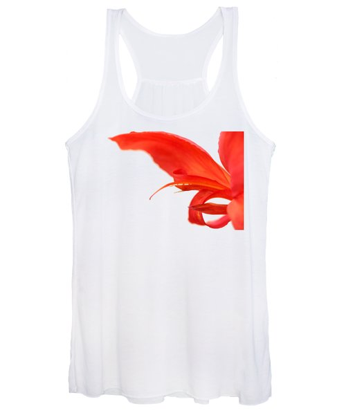 Softly Red Canna Lily Women's Tank Top