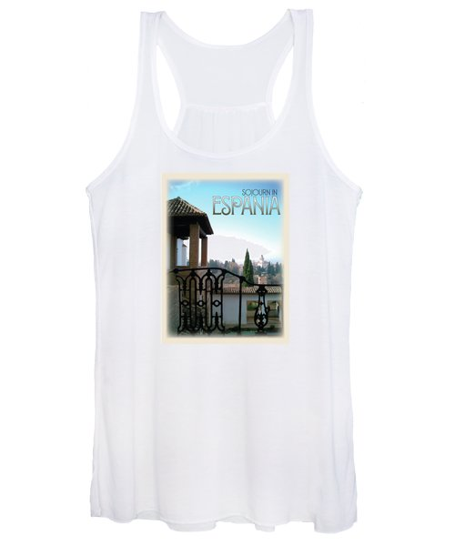 Sojourn In Espania Women's Tank Top