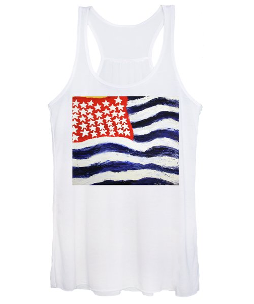 Something's Wrong With America Women's Tank Top