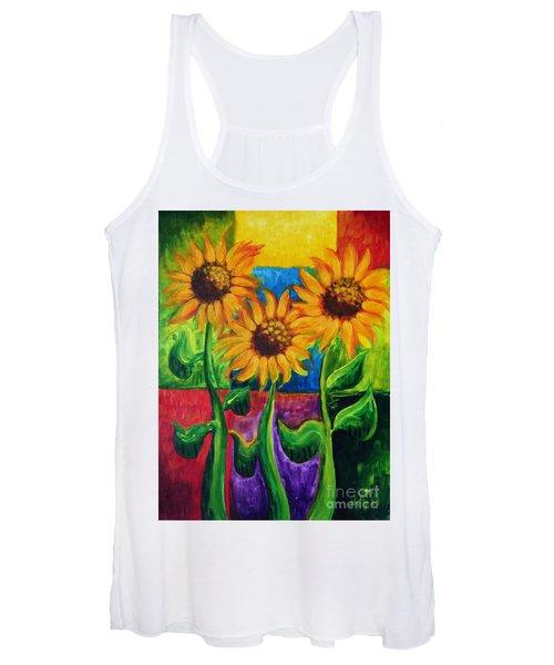Sonflowers II Women's Tank Top