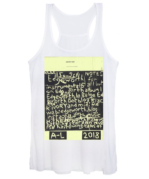 Song Notes Title Page A-l Women's Tank Top