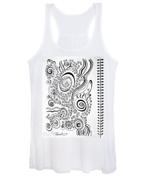 Sound Of The Lines Women's Tank Top