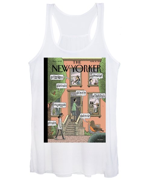 Soundtrack To Spring Women's Tank Top