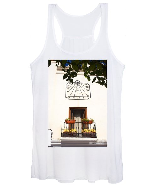 Spanish Sun Time Women's Tank Top