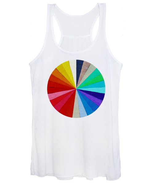 Spectrum From The Colored Beads Women's Tank Top