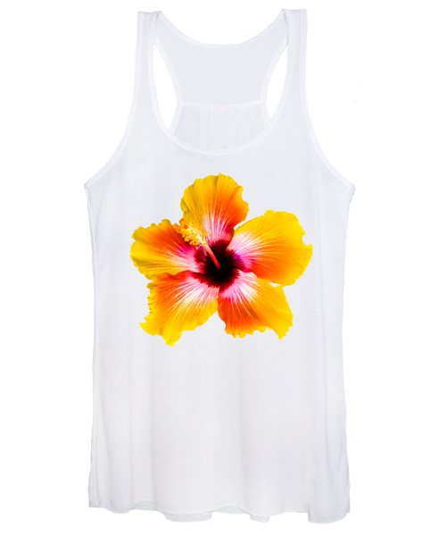 Spin The Bottle Hibiscus Women's Tank Top