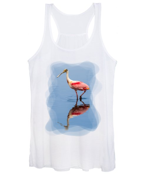 Spoonbill 3 Women's Tank Top